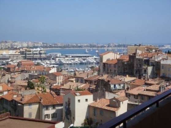 Annonce occasion, vente ou achat 'superbe appart.3 P vue mer Cannes'