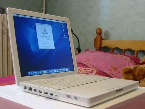 Annonce occasion, vente ou achat 'Mac IBook G4'