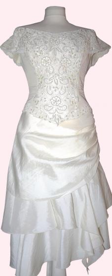 Robe de Mariée 2 pièces, taille 38