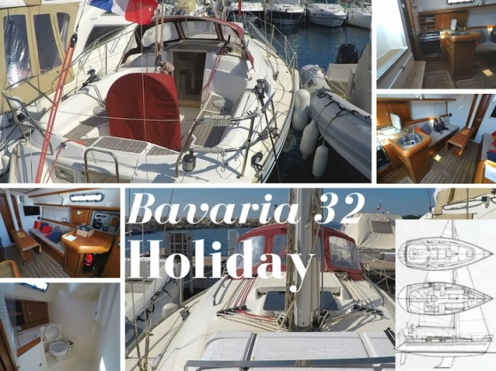 Annonce occasion, vente ou achat 'Location voilier Bavaria 32 Holiday 10m'