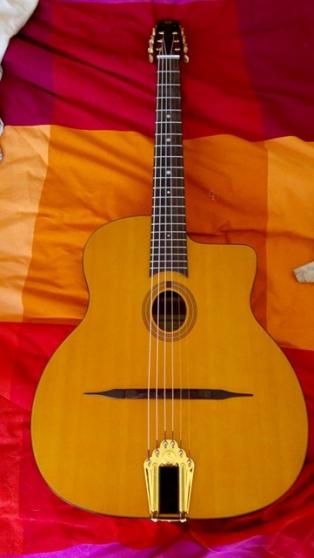 guitare manouche gitane cigano cg 0 - Annonce gratuite marche.fr