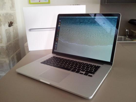 MacBook pro rétina 15pouces