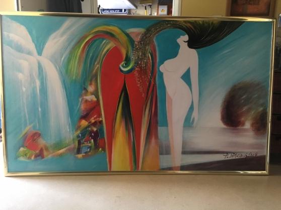 peinture sur toile - Photo 2