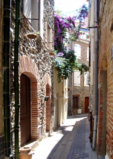 Collioure studio-terrasse meublé 2 pers