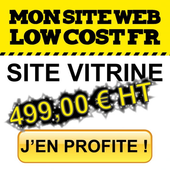 votre site vitrine pour 499,00 euro ht ! à besançon - Annonce gratuite marche.fr