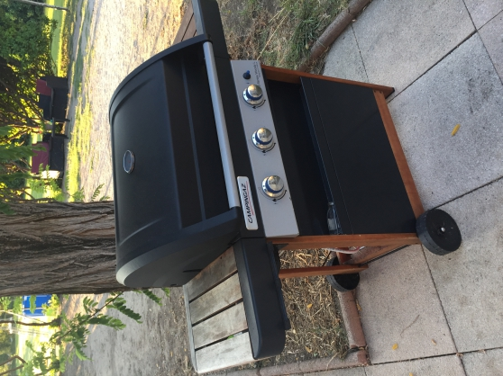 Barbecue au gaz CAMPINGAZ 3 séries woody