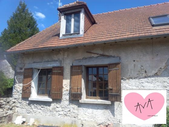Maison à rénover + terrain constructible