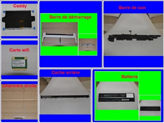 Pièces HP DV6-2114SF de 15,6 pouces