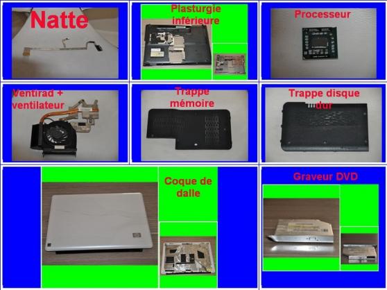 Pièces HP DV6-2114SF de 15,6 pouces - Photo 3