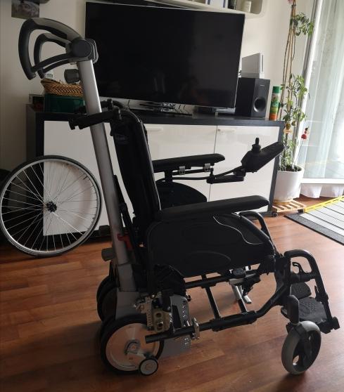 Annonce occasion, vente ou achat 'fauteuil manuel+système de propulsion+..'