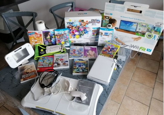 Annonce occasion, vente ou achat 'Wii U Édition Super Smash Bros & Wii Bal'