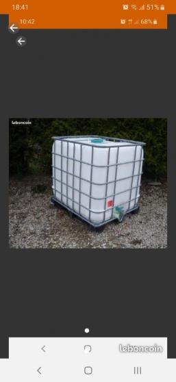 Cuve à eau alimentaire 1000 l comme neuv