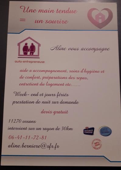 Annonce occasion, vente ou achat 'Auxiliaire de vie sociale'
