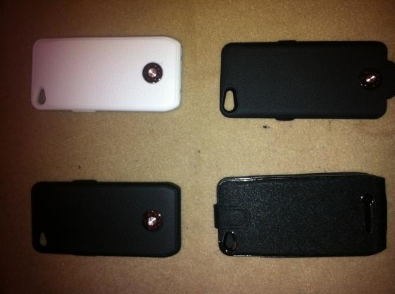 Coque iPhone 4 4S 5 5S Batterie Recharge