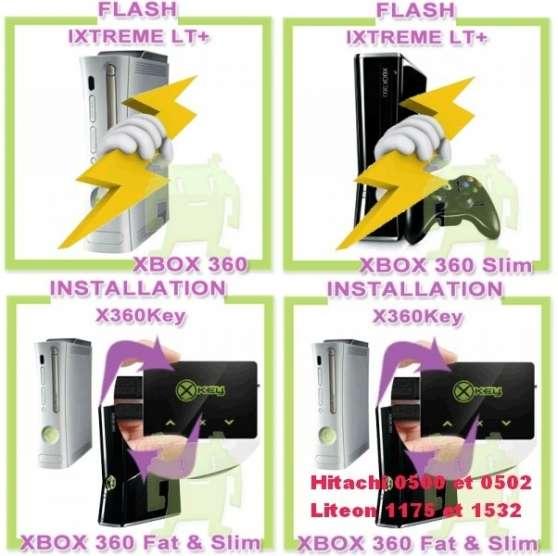 Annonce occasion, vente ou achat 'Flashage lecteur DVD XBOX360'