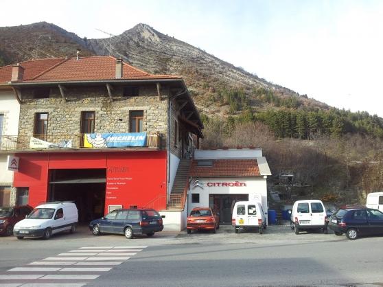 Garage Citroën + Station Essence Elan