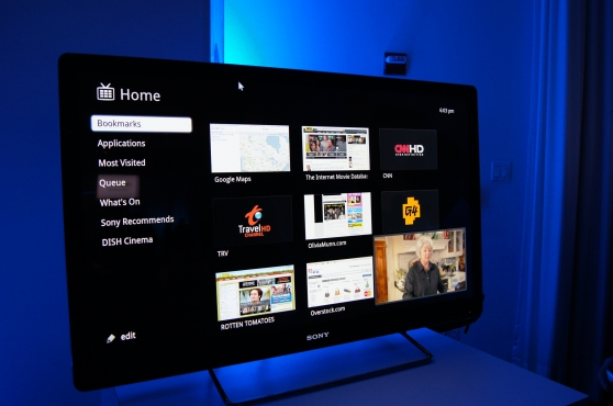 "Internet TV KDL-55W802A - 55"" LED TV -"
