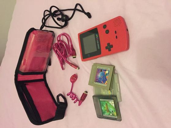 Game Boy color + jeux + accessoires
