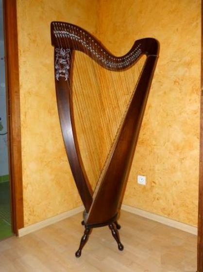harpe celtique orl ans musique instruments harpes orl ans reference mus har har petite. Black Bedroom Furniture Sets. Home Design Ideas