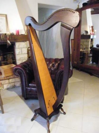 Harpe 34 cordes Camac modèle Mélusine