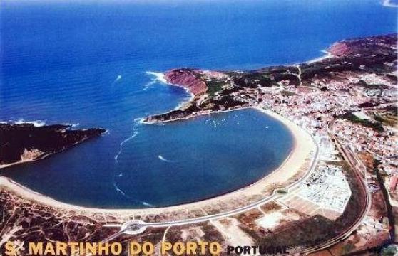 Soleil au portugal pres nazaré