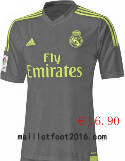 maillot real madrid 2015-2016 exterieur