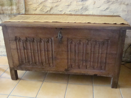 coffre plis de serviette antiquit art brocantes meubles anciens illats reference ant. Black Bedroom Furniture Sets. Home Design Ideas