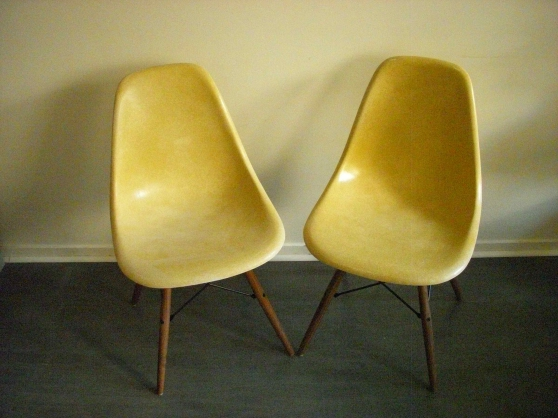 chaises eames herman miller ochre meubles d coration chaises fauteuils paris reference. Black Bedroom Furniture Sets. Home Design Ideas