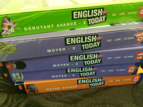 Annonce occasion, vente ou achat 'Cours d\'anglais(English today)'