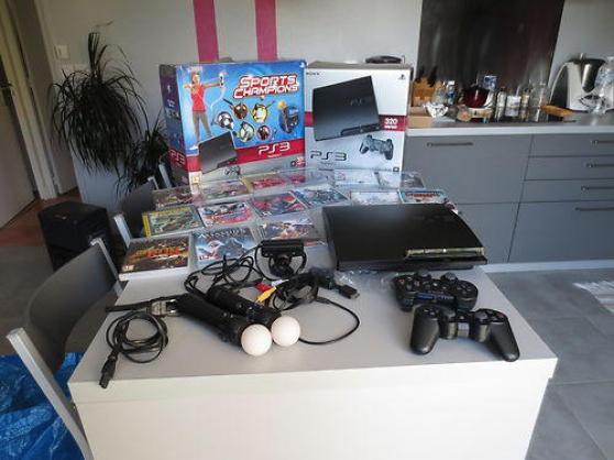 console ps3 slim 320 giga - Annonce gratuite marche.fr