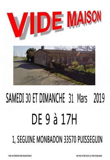 vide maison - Annonce gratuite marche.fr