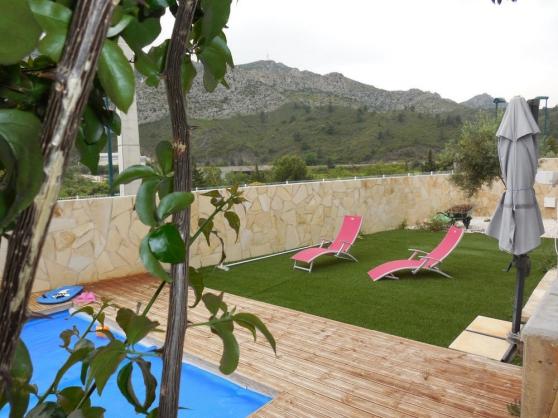 Villa 4 faces plain pied avec piscine - Photo 3