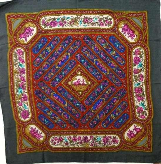 on sale f2405 05363 Hermes carre foulard QALAMDAN cachemire - Marche.fr