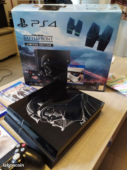 Annonce occasion, vente ou achat 'PS4 1Terra edition limitée star wars'