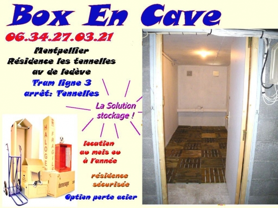 garde meuble box stockage cave montpellier immobilier location parking box garage. Black Bedroom Furniture Sets. Home Design Ideas