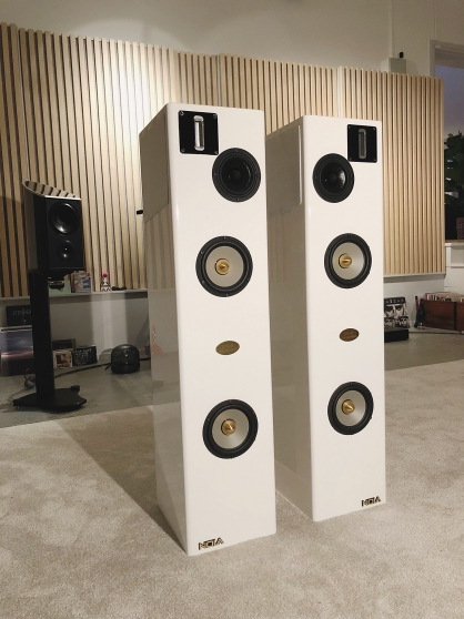 Annonce occasion, vente ou achat 'Nola Speakers Metro Grand Reference Gold'