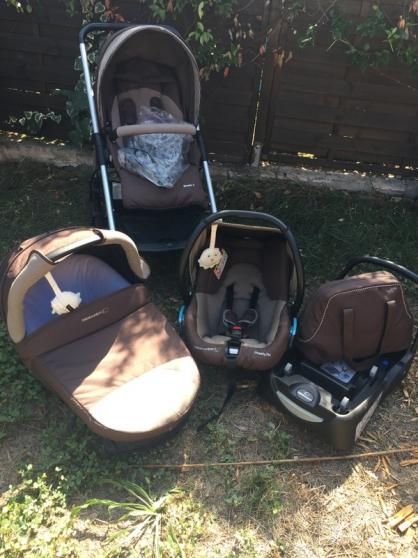 Poussette trio Streety 3 bébé confort