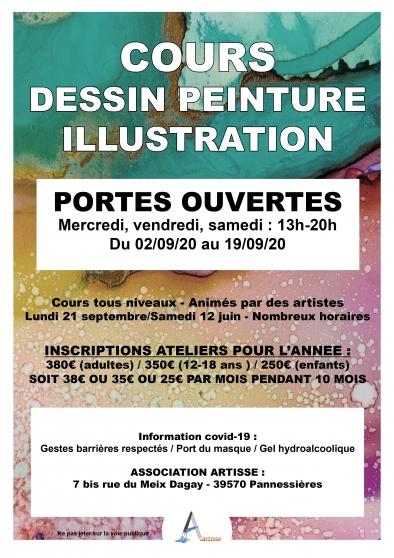 Annonce occasion, vente ou achat 'Cours de dessin peinture illustration'
