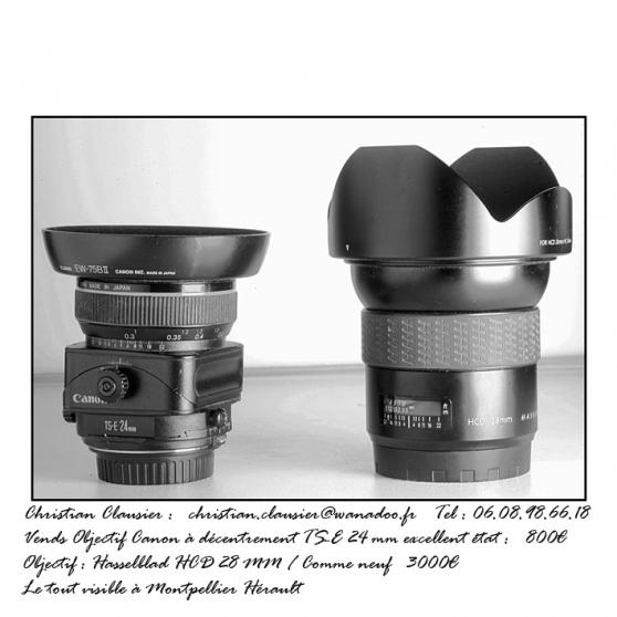 Objectifs photographiques