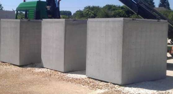Citerne stockage d'eau 5800L (béton)