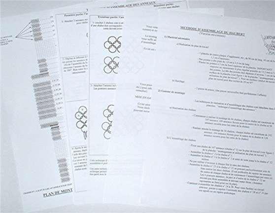 Patron et plan cottes de mailles - Photo 4