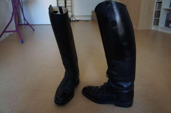 SOUBIRAC cuir Bottes d'équitation d'équitation Bottes Nn8wZX0OkP