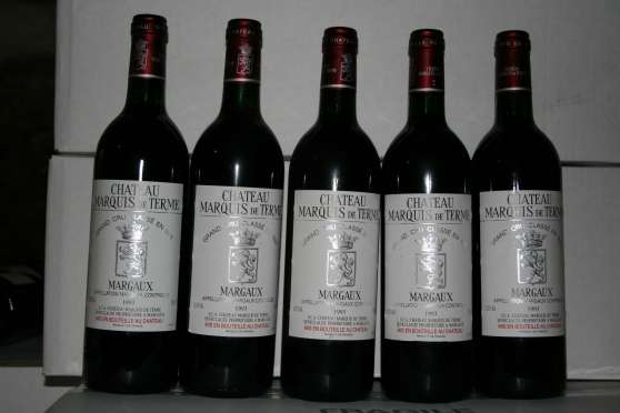 lot de 5 Margaux Marquis de Terme 1993 - Photo 1