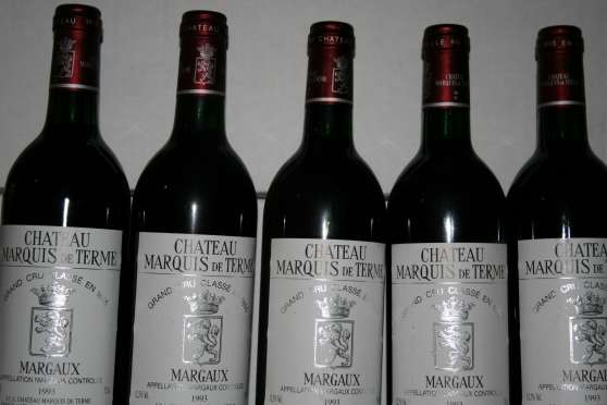 lot de 5 Margaux Marquis de Terme 1993 - Photo 2