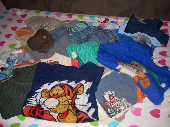 lot de vêtements 4/5 ans garçon