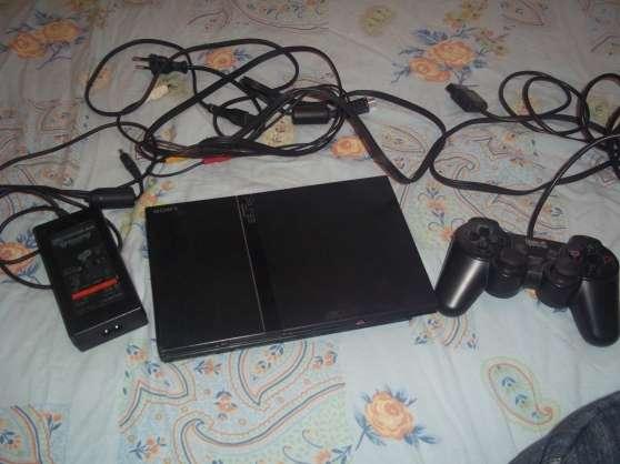 Playstation 2 + 4 jeux