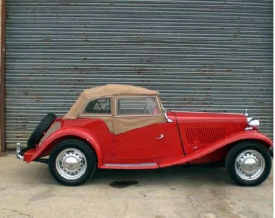 mg td cabriolet de 1952 - Annonce gratuite marche.fr