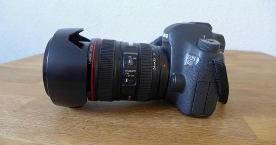Canon 6D Kit avec EF 24-105mm f / 4L IS