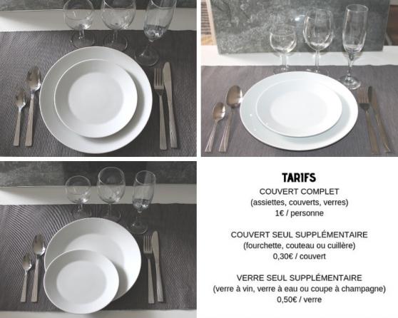Annonce occasion, vente ou achat 'Location de vaisselle de qualité'