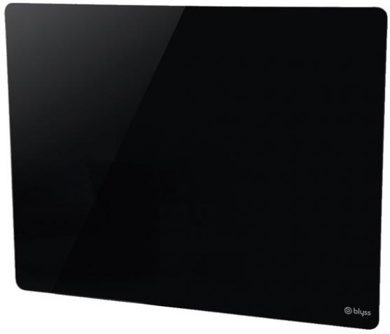 2 panneaux rayonnant verre noir neuf